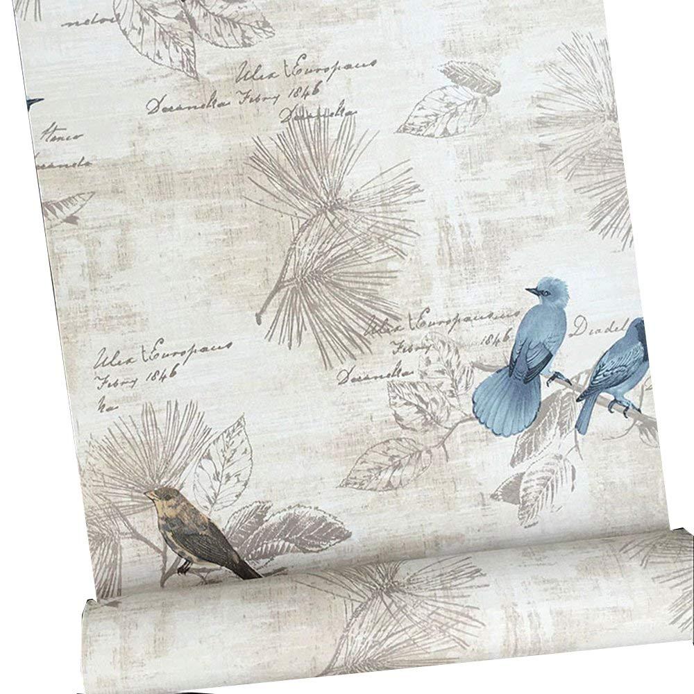 Vintage Papier Contact Shelf Liner auto-adhésif Peel and Stick amovible papier peint pour étagères tiroir Meuble mural Arts and Crafts Décoration 45x 199,9cm