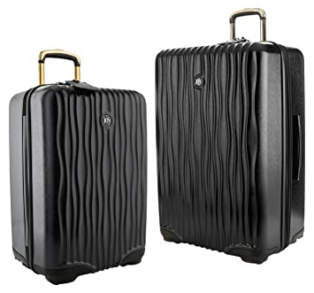Amazon.com  Joy Mangano Hardside Medium Luggage (Carry-on) and Xl Luggage  Combo 854ffd5909a0b