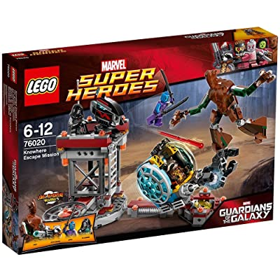 LEGO Super Heroes 76020: Knowhere Escape Mission: Toys & Games