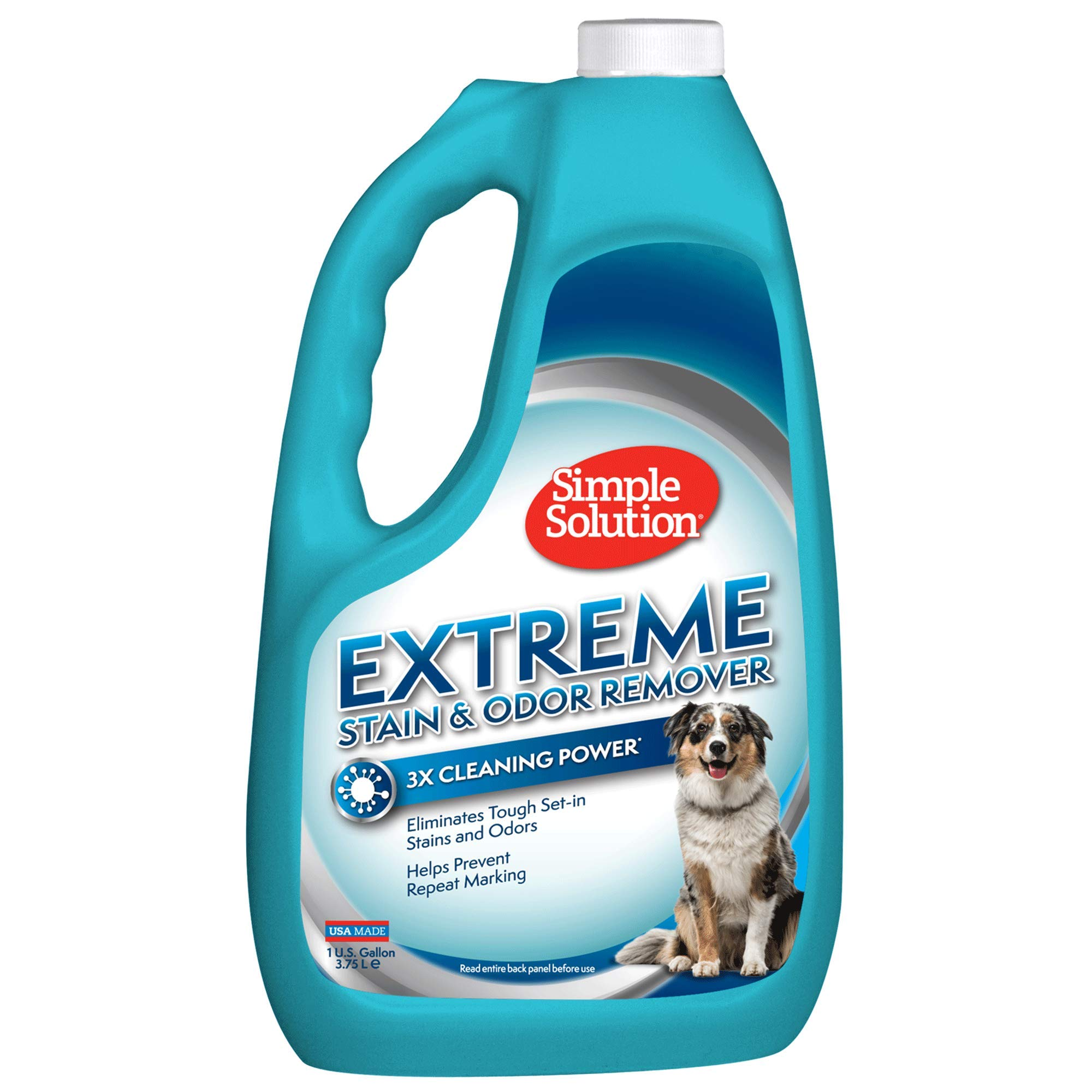 Simple Solution Extreme Stain + Odor Remover, 1 Gallon Refill by Simple Solution
