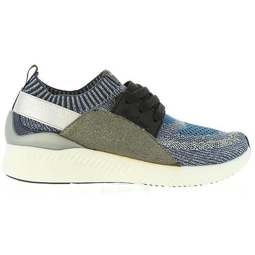 Zapatillas Deporte de Mujer PEPE JEANS PLS30549 Sutton 585 Marine: Amazon.es: Zapatos y complementos