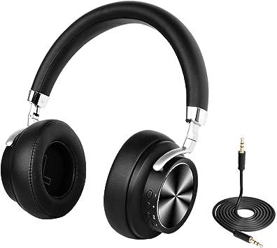 Auriculares inalámbricos Bluetooth con micrófono Hi-Fi , Cascos Bluetooth Inalámbrico para TV PC: Amazon.es: Electrónica