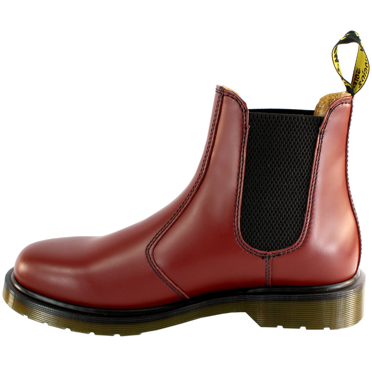Martens Mens 2976 Classic Chelsea Style Leather Ankle High Boot Red 11 Dr