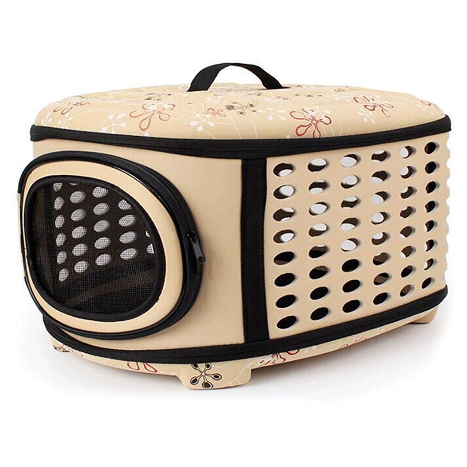 As picture B3 M4Eva Folding Pet Carrier Puppy Dog Cat Outdoor Travel for Small Dog Pet Dog Soft Kennel Pet Carrier Bag Puppy Pets Carrier