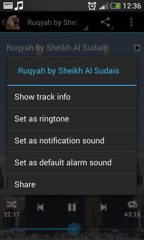 Ruqyah Shariah Full MP3: Amazon ca: Appstore for Android