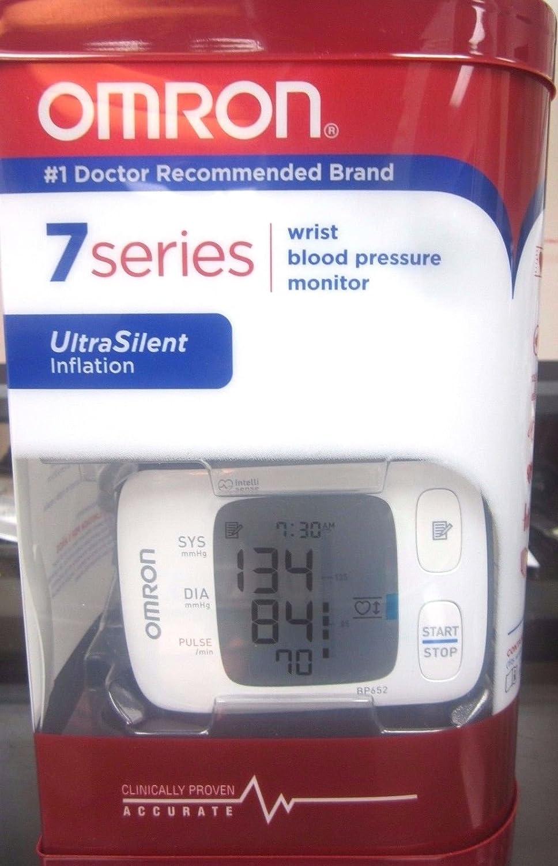 Omron BP652 Muñeca Automático 1usuario(s) - Tensiómetro (AA, LCD): Amazon.es: Hogar