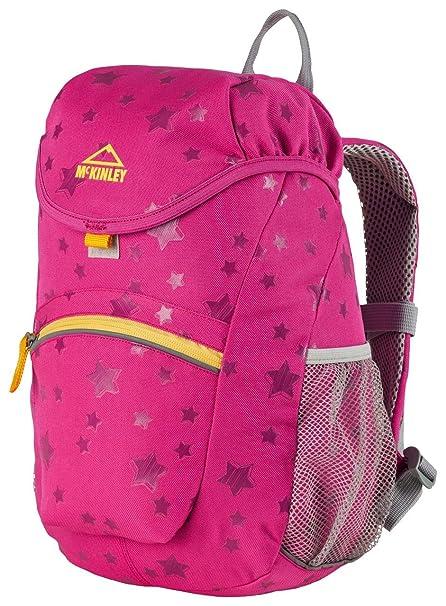 McKinley BAGY 8 Poliéster Rosa, Amarillo Mochila - Mochila para portátiles y netbooks (Poliéster