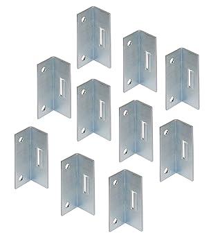gedotec Conector de armario armario ángulo atornillables fijar muebles Conector atornillar | H3512: Amazon.es: Bricolaje y herramientas