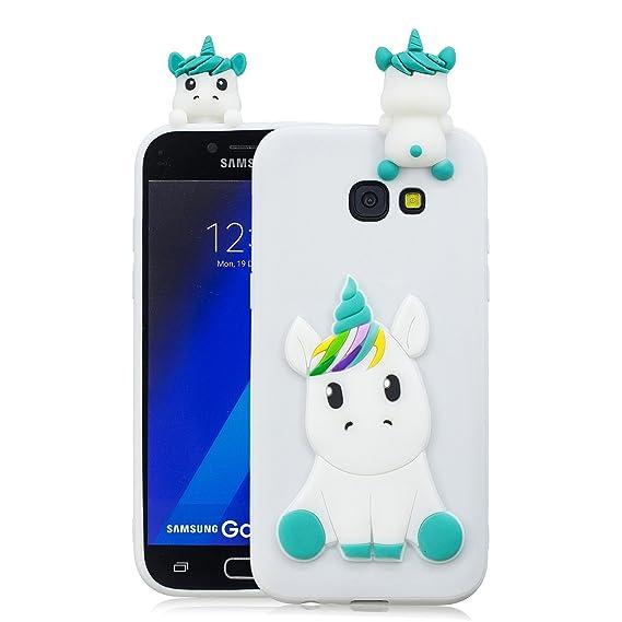 timeless design 9c0a4 57f2b Amazon.com: Galaxy A5 2017 Case, Samsung A5 2017 Cute Case, DAMONDY ...