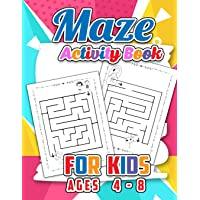 Maze Activity Book for Kids Age 4-8: A Fun Kid Workbook Game for Learning and Relaxation