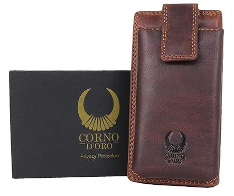 ddc2a0c0d5552 Geldbörse Damen Leder RFID Schutz
