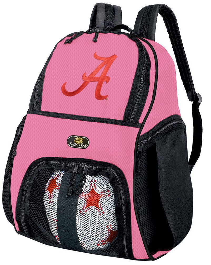 Broad Bay Girls University of Alabama Soccer Ball Backpack or Volleyball Bag Ball Carrier by Broad Bay (Image #1)
