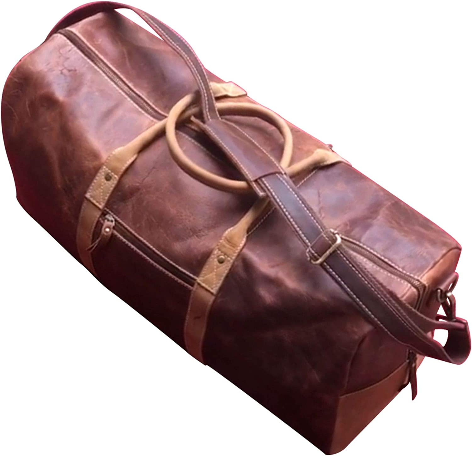 Vintage Sailing Ship Sports Gym Bag with Shoes Compartment Travel Duffel Bag for Men Women