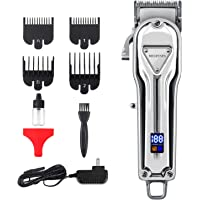 Megfenpa Rechargeable Professional Hair Trimmer with LED Display