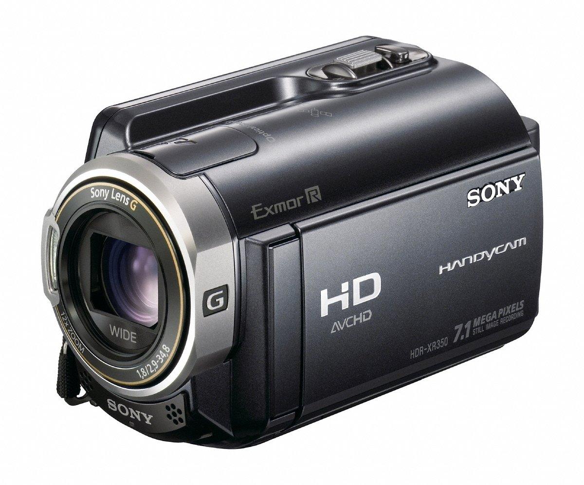 amazon com sony hdr xr350v 160gb high definition hdd handycam rh amazon com Sony Handycam HDR- CX260V Review Sony Handycam HDR CX290