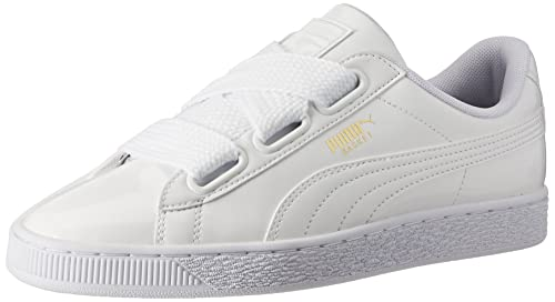 492542af8eef Puma Women s Basket Heart Patent Sneakers  Buy Online at Low Prices ...