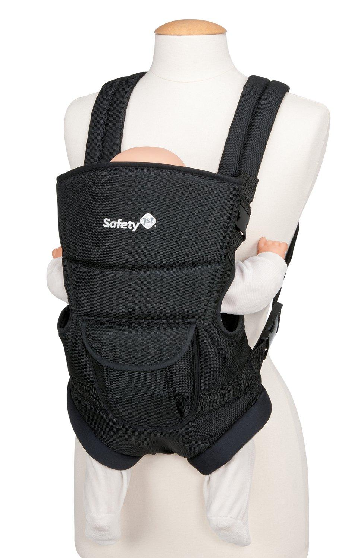 Safety 1st Youmi Babybauchtrage, bis 9 kg (ca. 9 Monate), schwarz 26897640