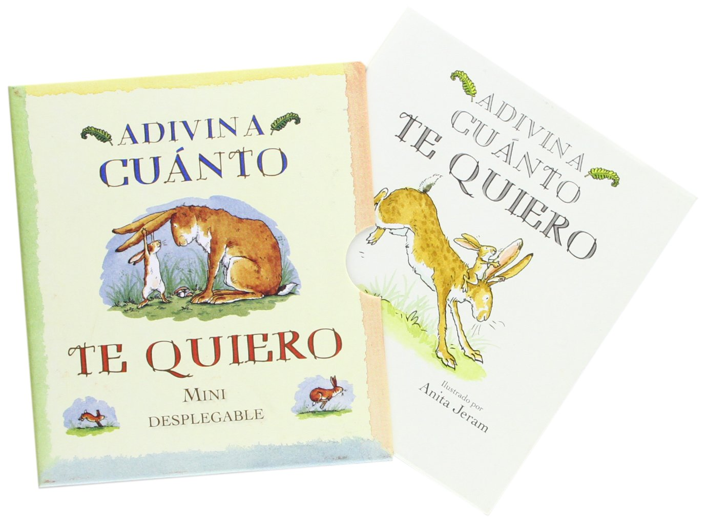 Adivina Cuanto Te Quiero. Mini Desplegable: Amazon.es: Sam Mc Bratney,  Anita Jeram, Esther Rubio Muñoz: Libros