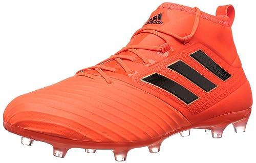 adidas Men s ACE 17.2 FG Soccer Shoe Orange Black Solar Red 68e26a1663a