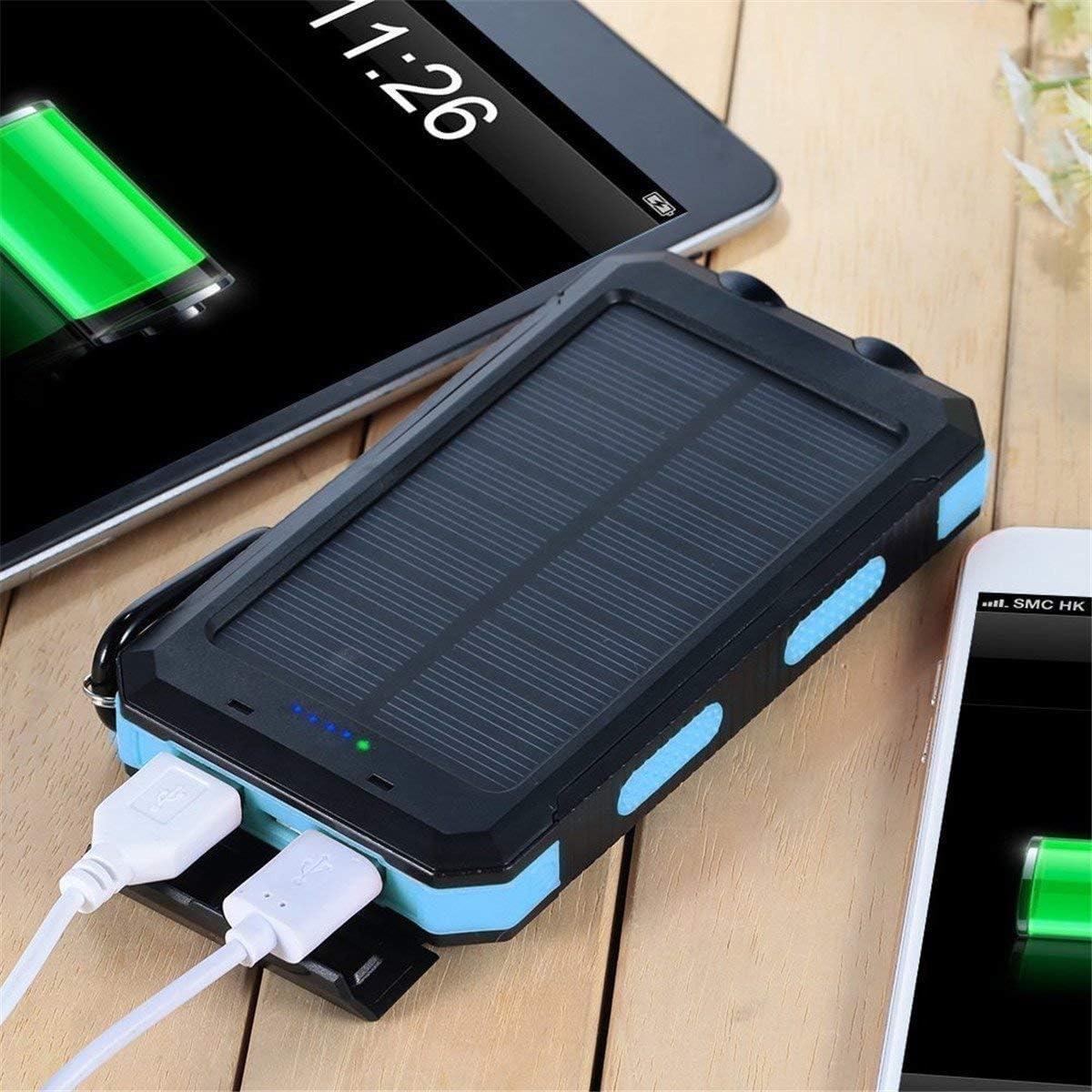 Cargador de teléfono solar portátil. Banco de energía solar LIT ...
