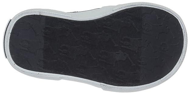 Polo Ralph lauren - Mocasines de Tela para niño Blanco Blanco y Azul: Amazon.es: Zapatos y complementos