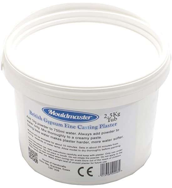 Mouldmaster Plaster of Paris Easy Peasy Plaster of Paris in a Tub Makes 2kg