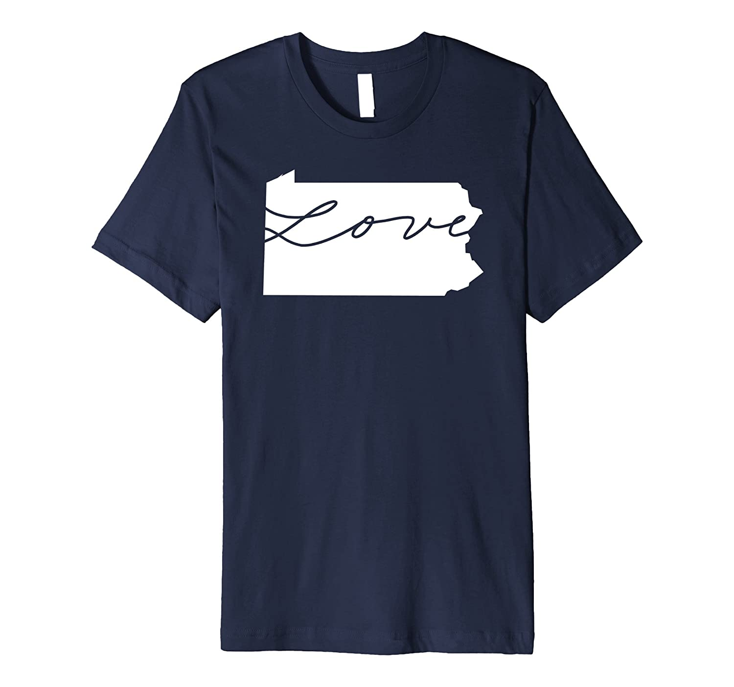 50nifty The State Love Collection - Pennsylvania T-shirt-CD