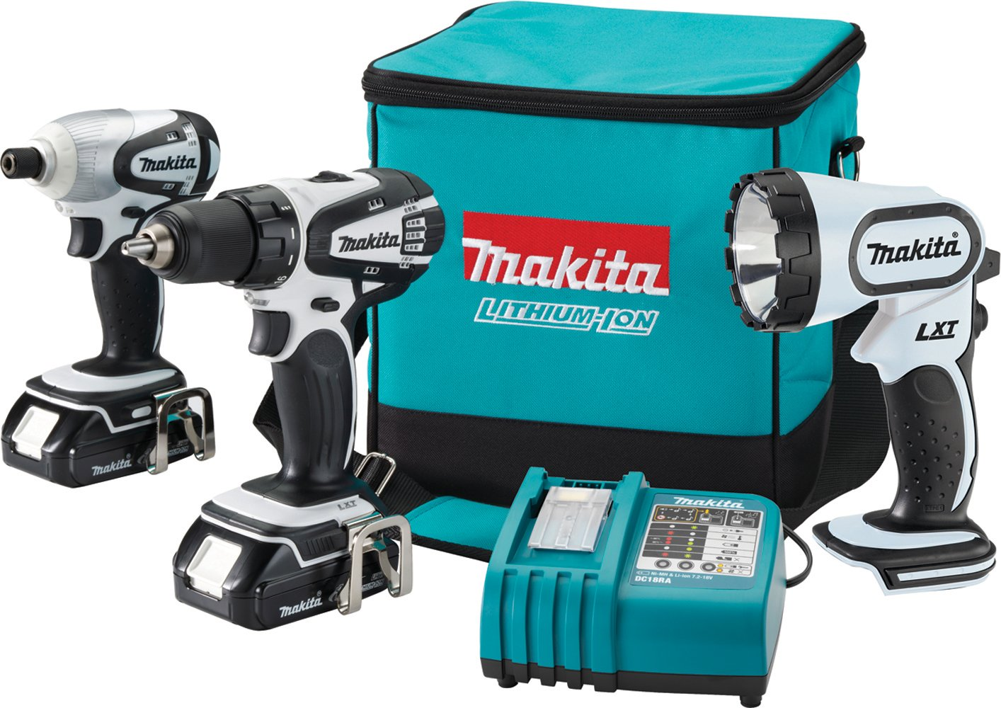 Makita LCT300W 18-Volt Compact Lithium-Ion Cordless 3-Piece Combo Kit Discontinued by Manufacturer