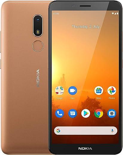 Nokia C3 Android 10 Smartphone with 2GB RAM 16GB Storage,...