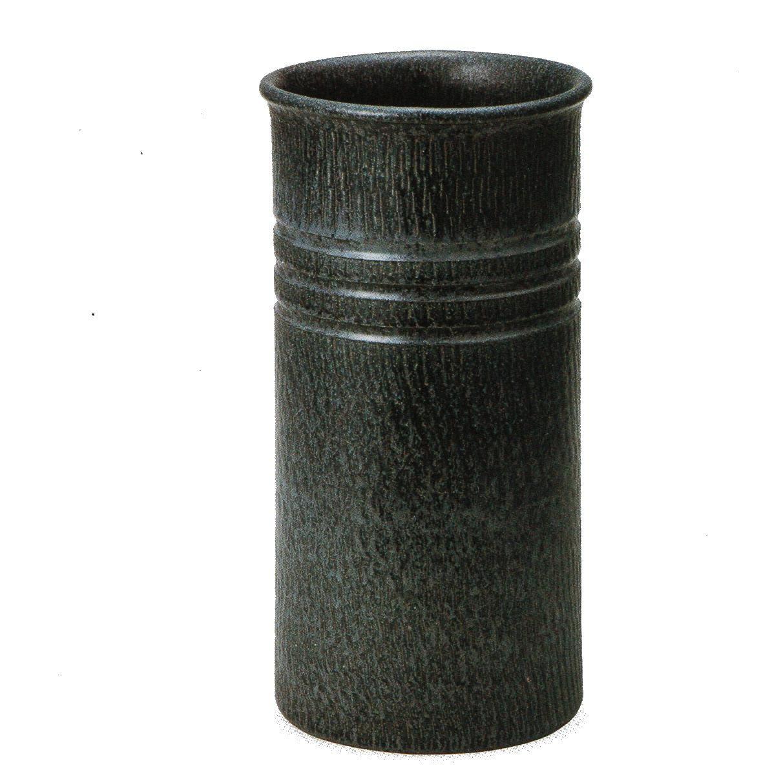 青窯肌傘立 (信楽焼陶器傘立梅雨玄関H)* B01NCS7TZB