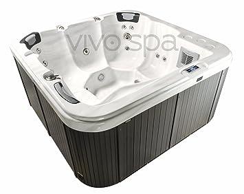 vivo spa WELUXIA 514 Außen Whirlpool Outdoor Whirlpools Garten ...