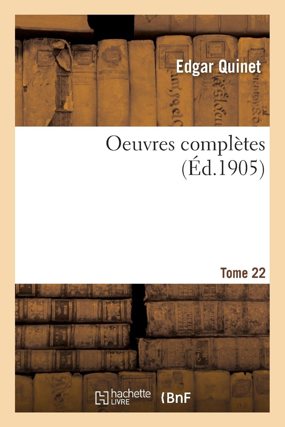 Download Oeuvres Complètes. Tome 22 (French Edition) ebook