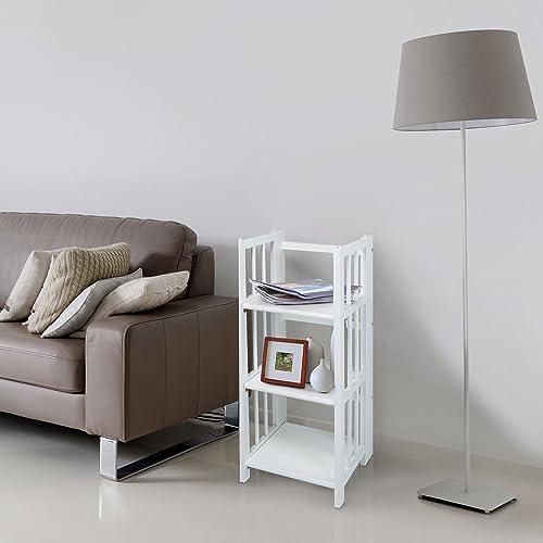 Casual Home 3-Shelf 14″ Wide Folding Bookcase