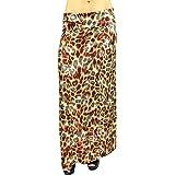 BelleDonne - Women's Maxi Skirt Stretchy Long Skirt High Waist Skirt