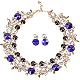 Holylove 6 Colors Costume Statement Necklace for Women Fashion Necklace with Gift Box