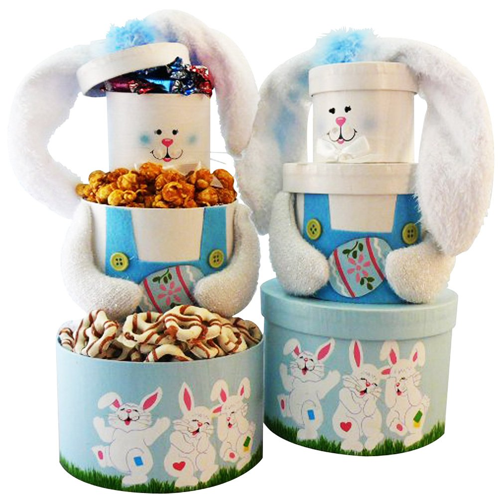 Somebunny special easter bunny gift tower blue amazon somebunny special easter bunny gift tower blue amazon grocery gourmet food negle Image collections