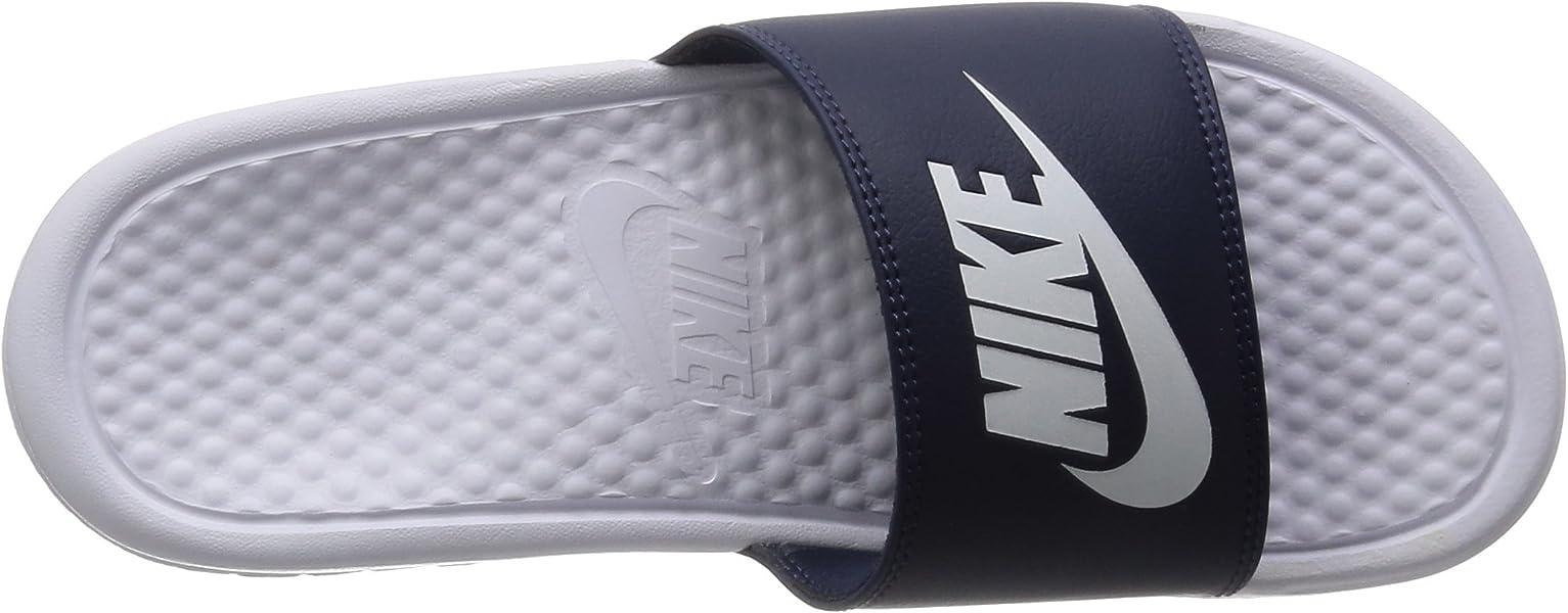 8434d77e0a0 Nike Benassi JDI Mismatch Slide Sandals Men s 4. Back. Double-tap to zoom