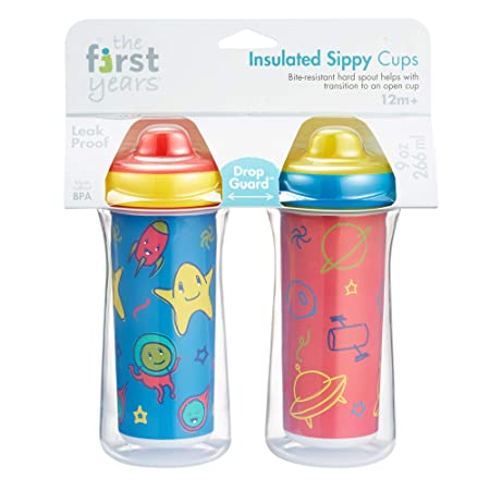 Amazon.com: The First Years Vasos aislados para Sippy, 9 ...