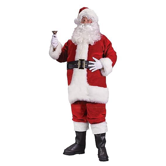 Regency Plush Santa suit - deluxe boxed costume. Jacket 3cecae48a9