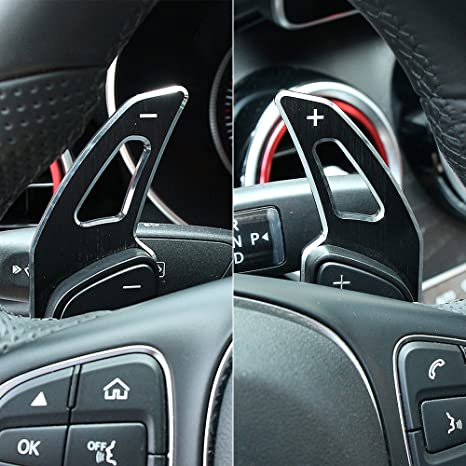 Car Accessories Steering Wheel Shifter Paddle Extension For Mercedes Benz C  Class W205/ GLC Class