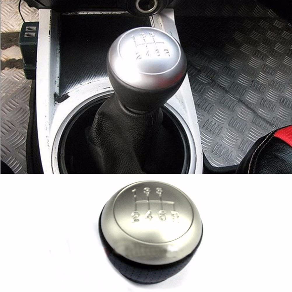 6Speed Leather Gear Shift Knob Lever For Hyundai Tiburon Coupe 2003 2008