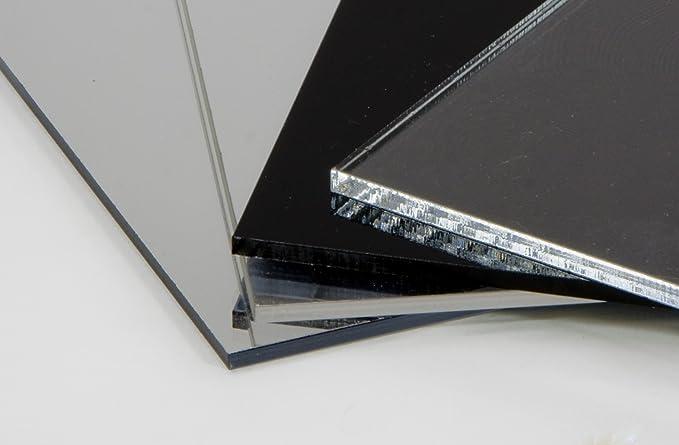 Acryl-Zuschnitt//Plexiglas-Platte schwarz 65 x 45 cm 3mm XT