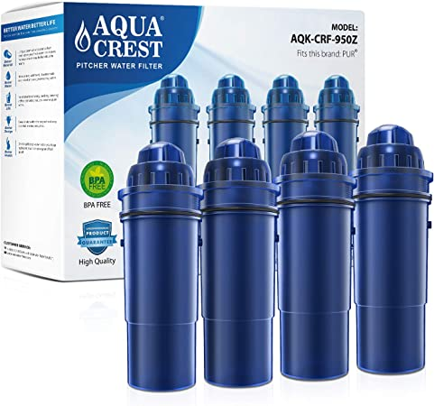 Amazon.com: Aquacrest CRF-950Z - Filtro de agua para jarra ...