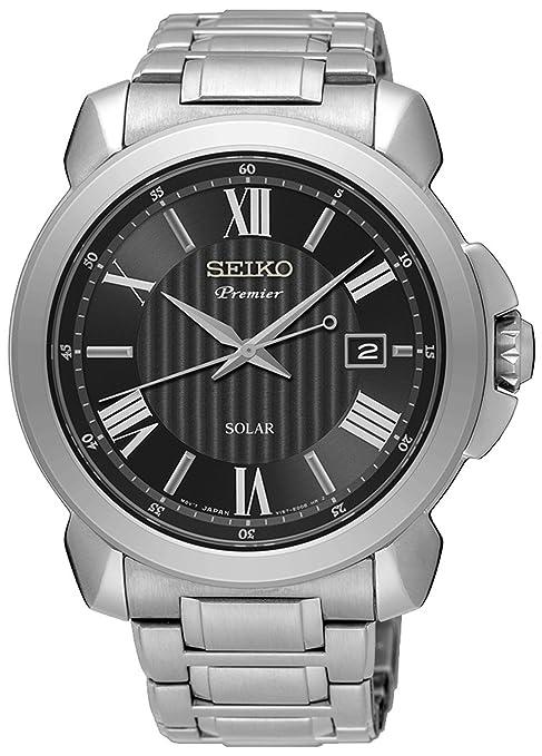 Seiko premier SNE455P1 Mens automatic-self-wind watch