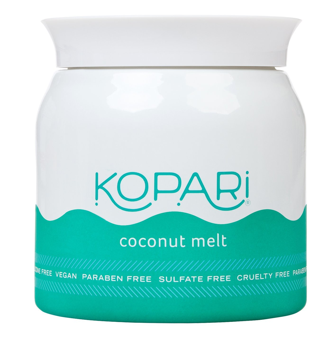 Kopari Organic Coconut Melt - All-over Skin Moisturizing, Under Eye Rescuing, Hair Conditioning + More With 100% Organic Coconut Oil, Non GMO, Vegan, Cruelty Free, Paraben Free and Sulfate Free 7.0 Oz by Kopari (Image #1)