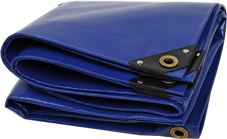 Nemaxx Lona de protección PLA812 Premium 800 x 1200 cm; Azul con Ojales, PVC de 650 g/m², Cubierta, Lona de protección. Impermeable y a Prueba de desgarros, 96m²: Amazon.es: Jardín