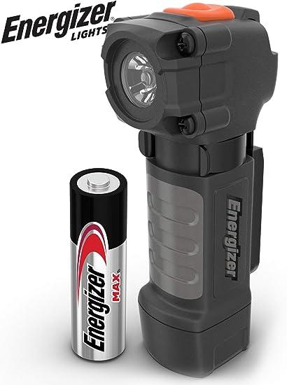 NEUF ENERGIZER 3-DEL metal lampe de poche 100 lm avec piles Bright /& Durable
