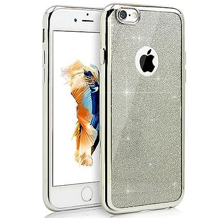 carcasas iphone 8 plus purpurina