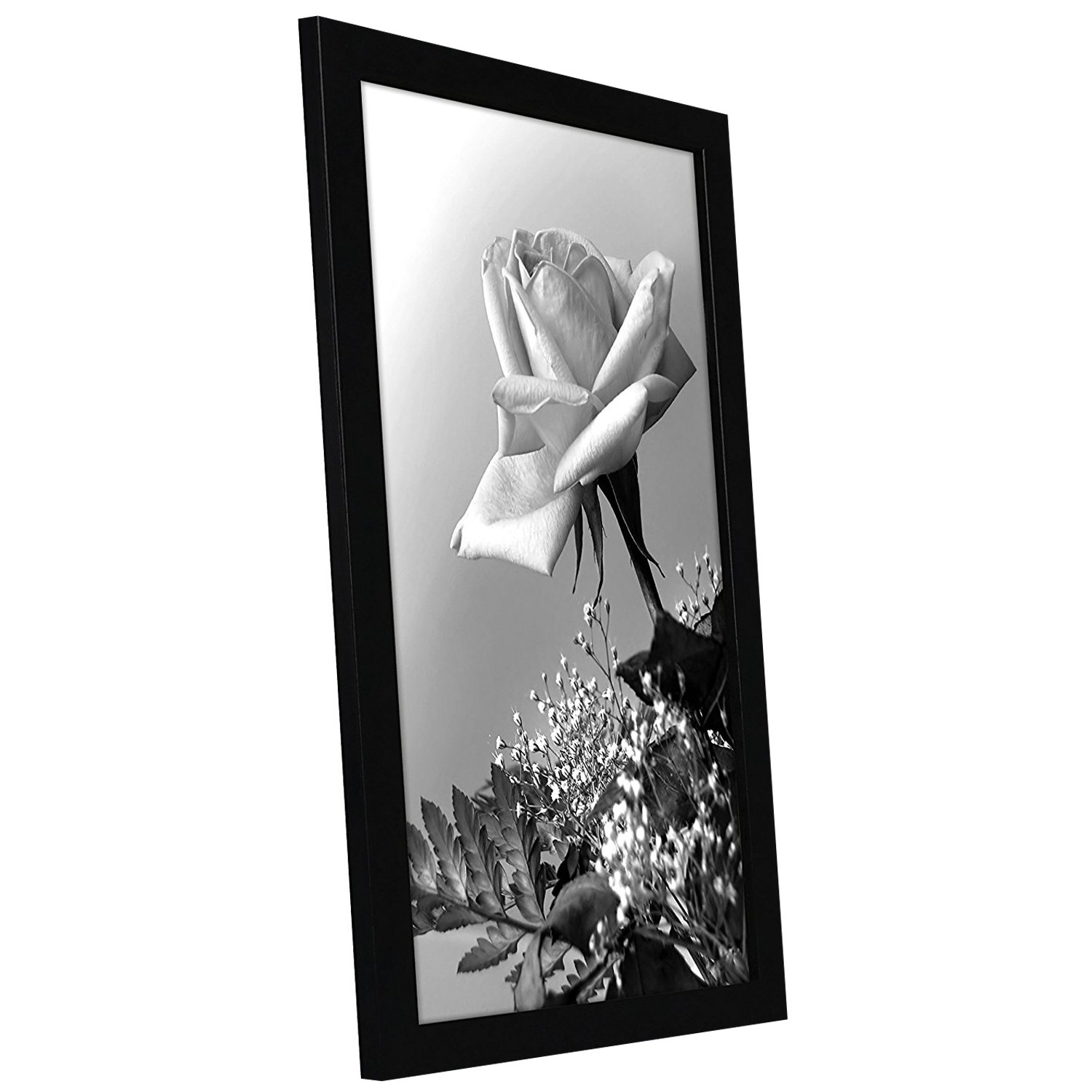 12x18 black poster frame with plexiglass front by