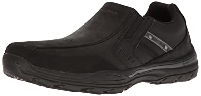 Skechers USA Men's Elment Brencen Slip-On Loafer, Black, ...